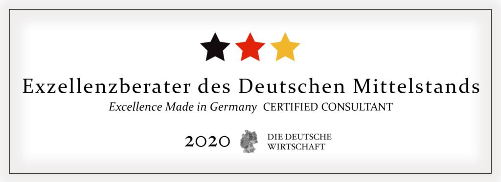 vertrieb outsourcing zertifikat Exzellenzberater Deutscher Mittelstand